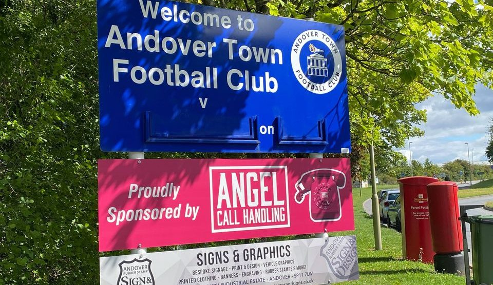 Andover Town FC Portway Stadium
