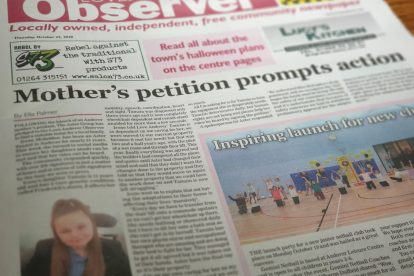Love Andover Observer Front Page 221020