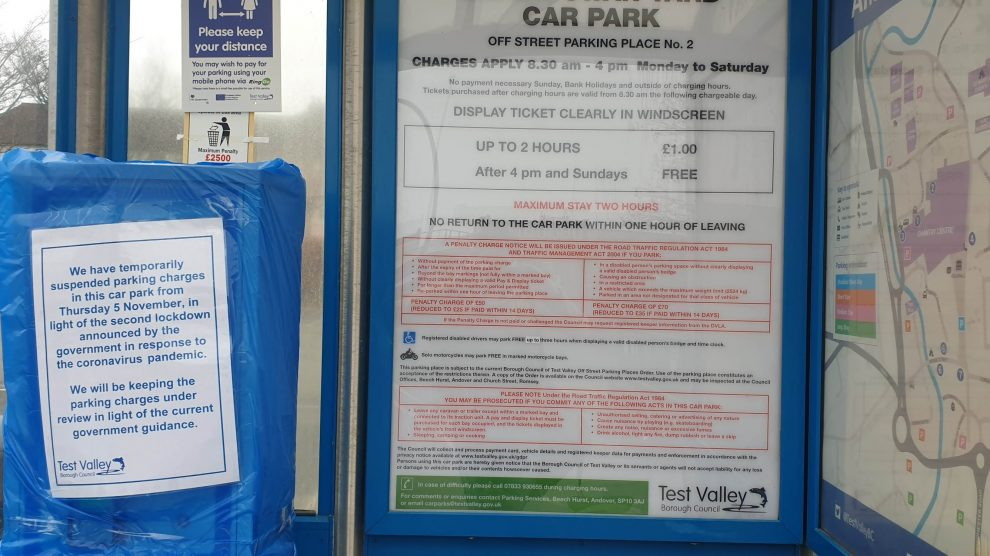 Car Parking in Andover Hampshire