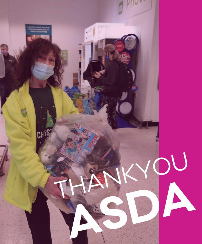Thank you ASDA Andover for helping the Andover Radio Santa Grotto 2020