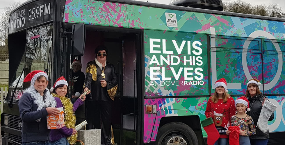 Elvis and his Andover Radio Elves Love Bus