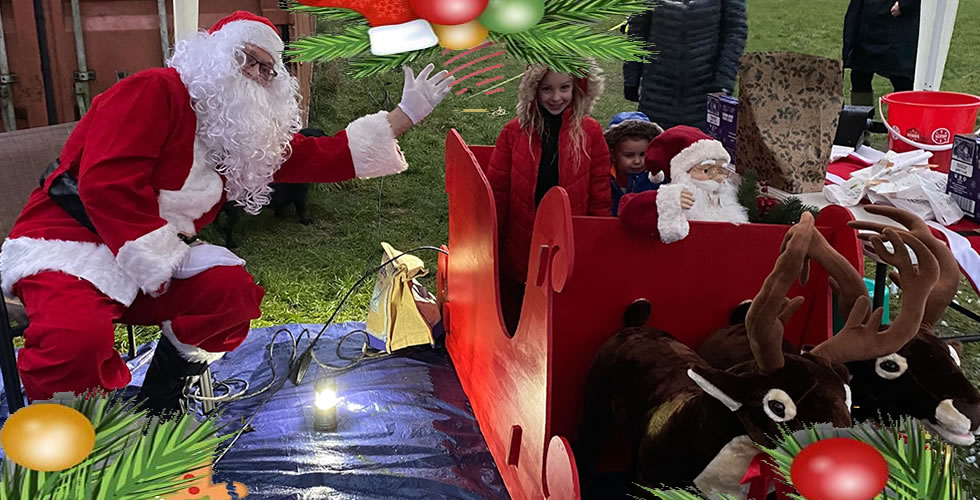 Santa Claus Father Christmas Andover 2020
