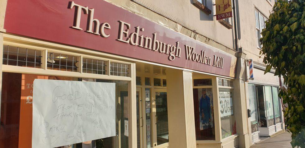 Edinburgh Woollen Mill Andover Closes 2021