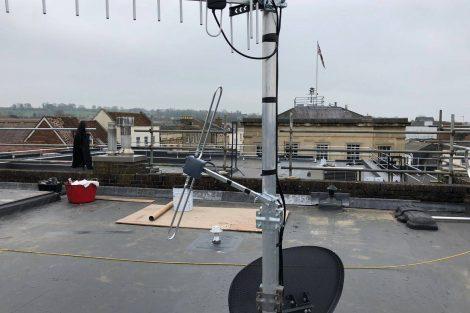 DAB Digital Radio Andover aerial
