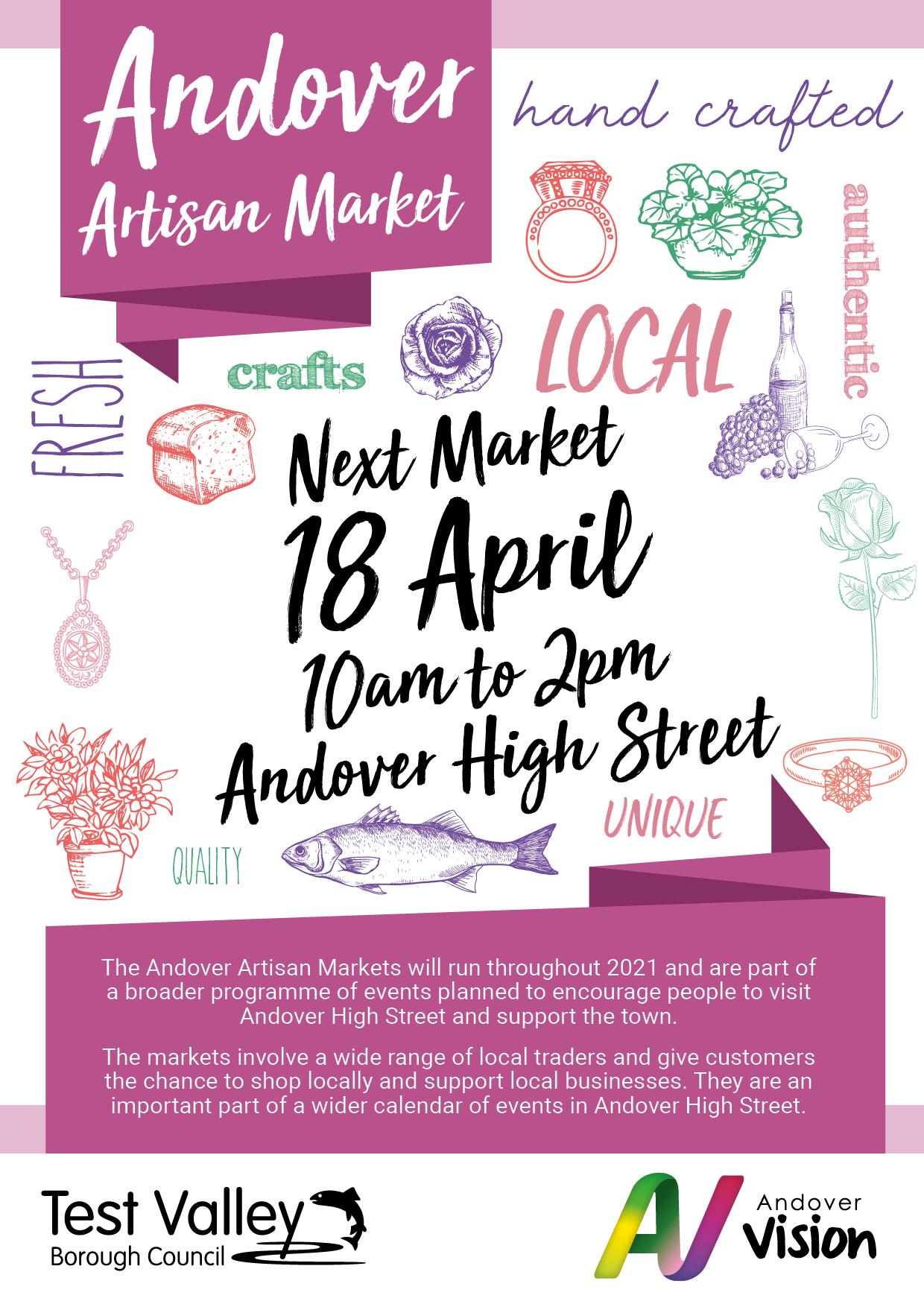 Artisan Market 2021 April