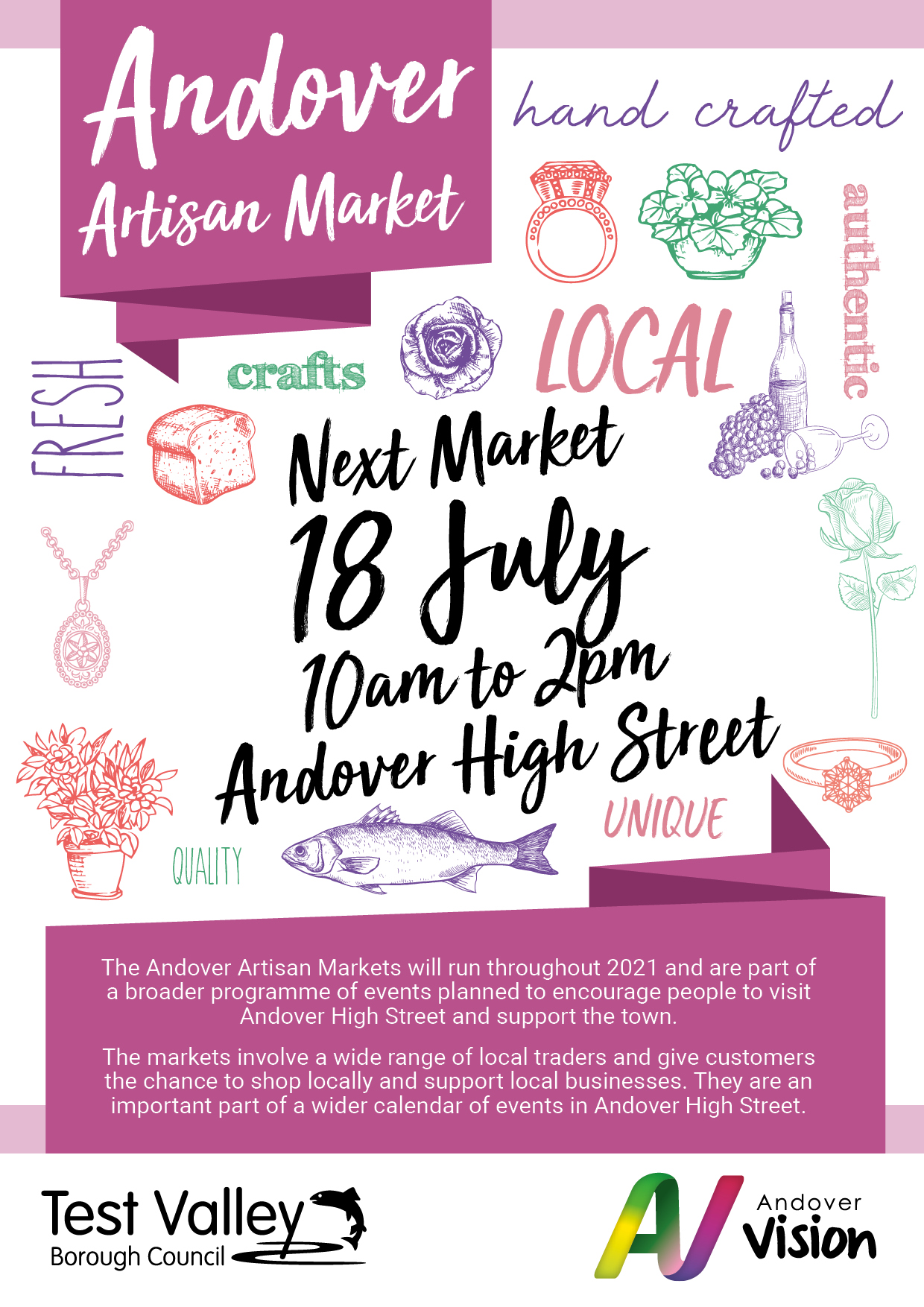 Artisan Market 2021 July