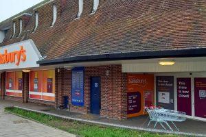 Sainsburys Bridge Street Andover Closed