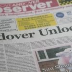 Love Andover Observer Newspaper Front Page 8th April 2021