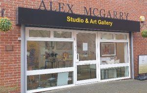 Alex McGarry Art Gallery Andover