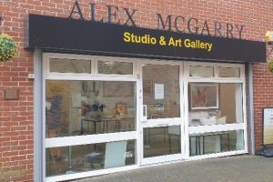Alex McGarry Art Gallery Andover