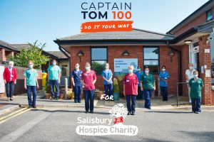 Captain Tom 100 Salisbury Hospice Charity