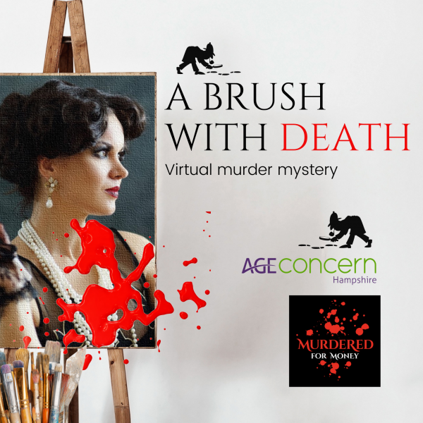 A Brush with Death- 5 day virtual murder mystery challenge