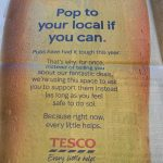 Tesco Pop to your local