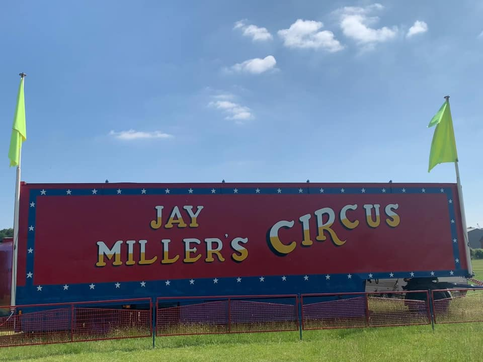 Jay Millers Andover sign