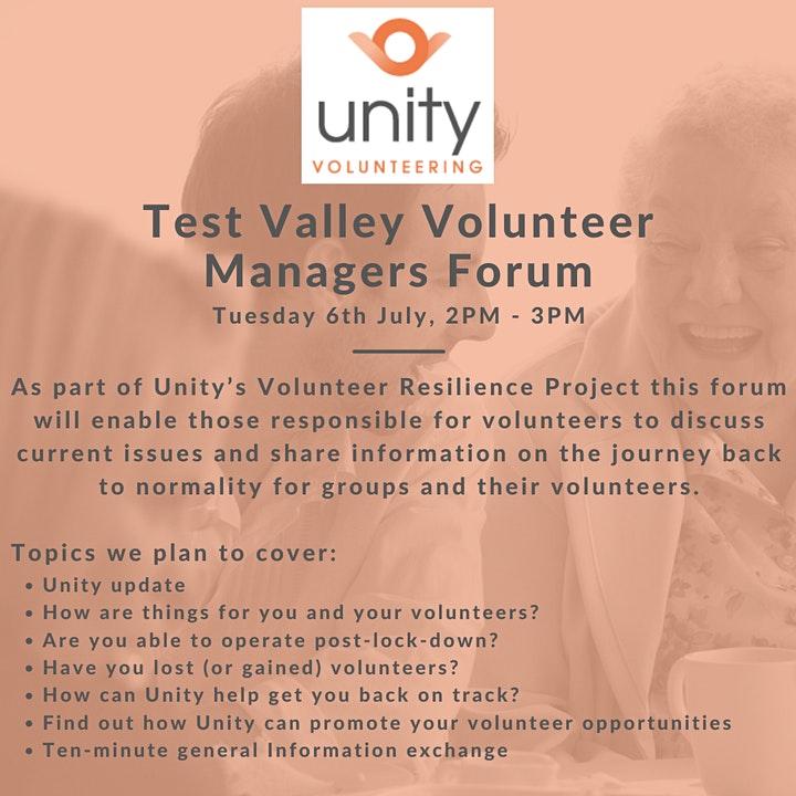 unity volunteers