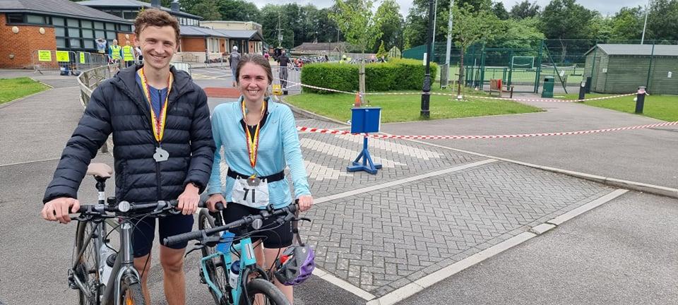 Andover-Triathlon-Ben-Wilson-and-Gemma-Colucci