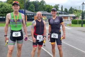 Andover Triathlon Shaun Green Paul and Mark Wills