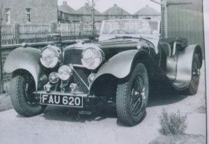Jaguar SS100 FAU620