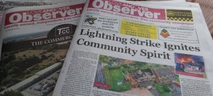 Love Andover Observer Front Page 27th July 2021
