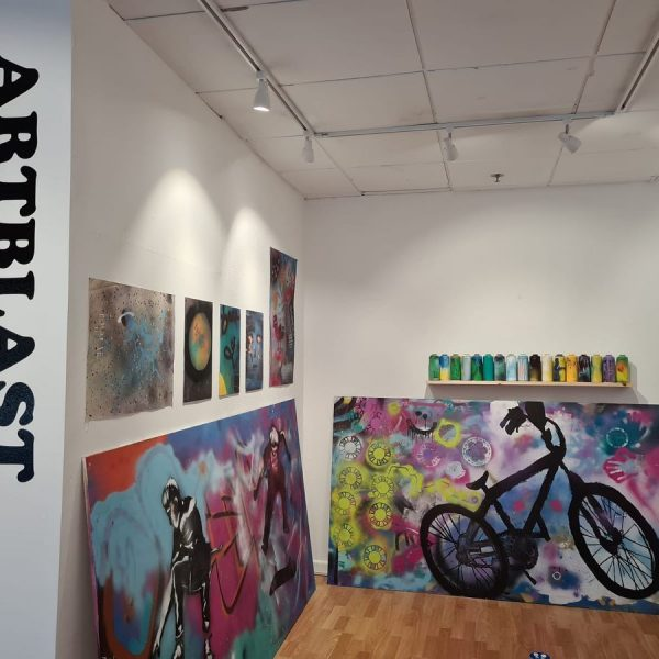 Andover Show Celebrating Street Art by Young Skating Community