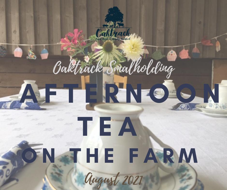 Afternoon tea 2021