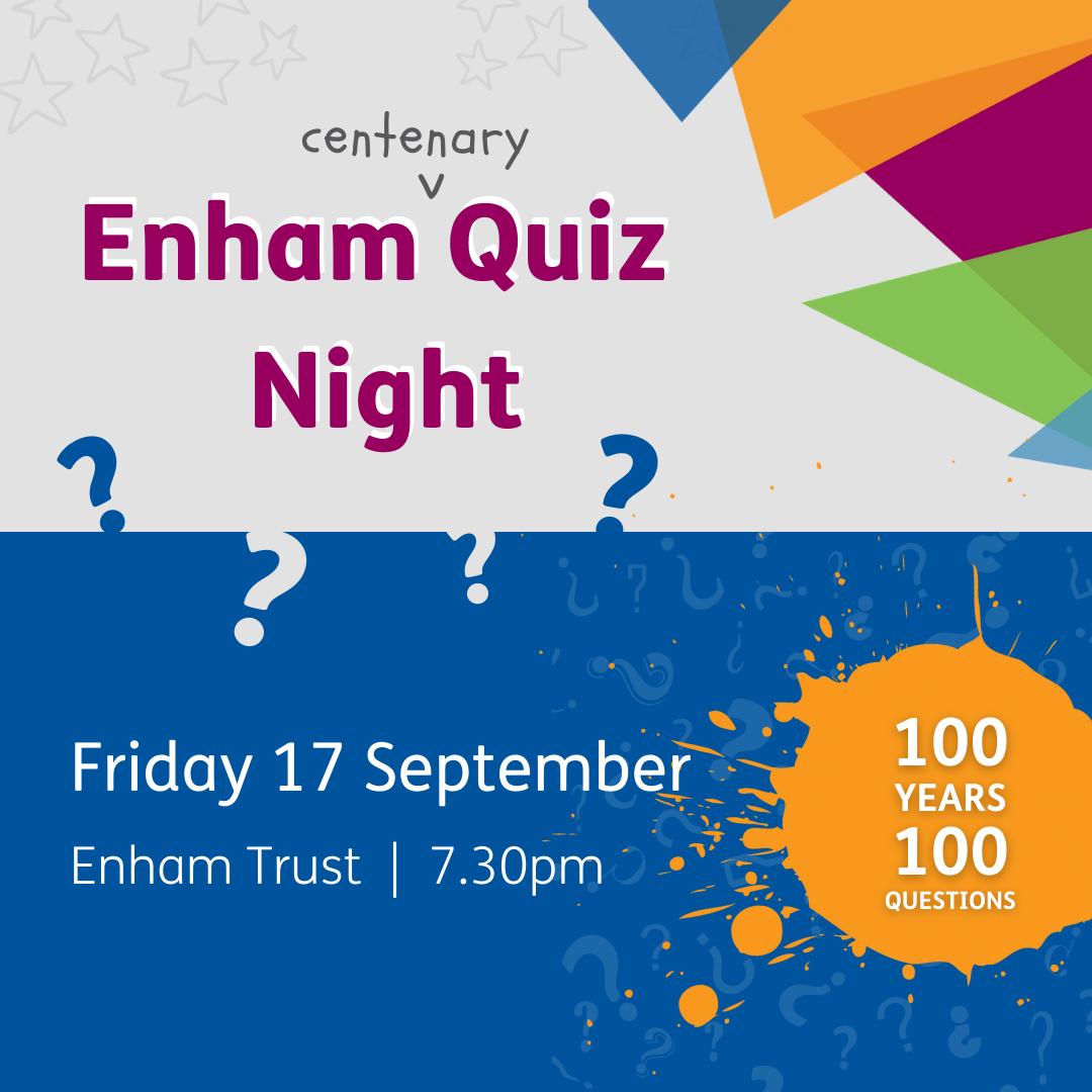 Copy of Copy of Enham Quiz Night
