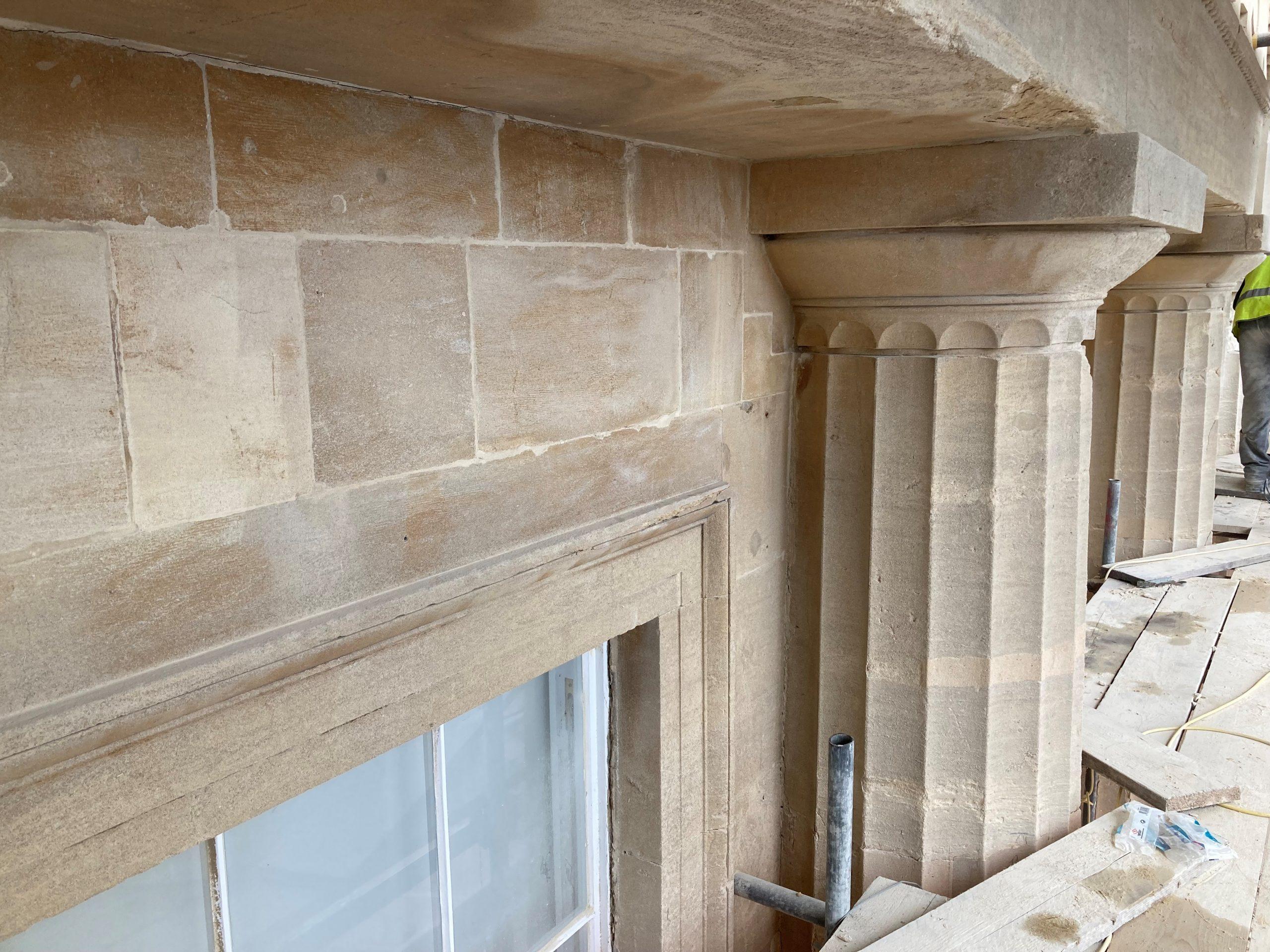 Stone-pillars