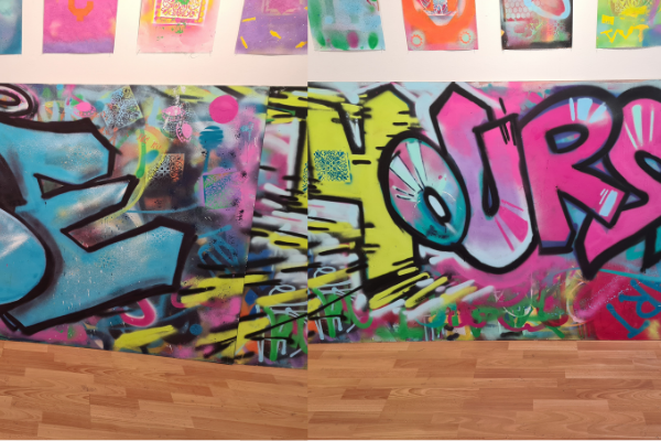 Buy some Amazing Street Art and help our Young People in Andover