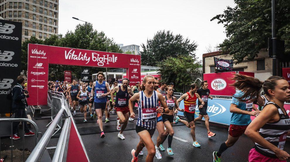 Abi Woolaston London Half Marathon 2021