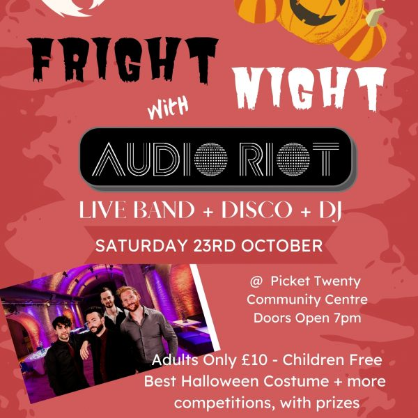 Fright Night with Audio Riot Live Band