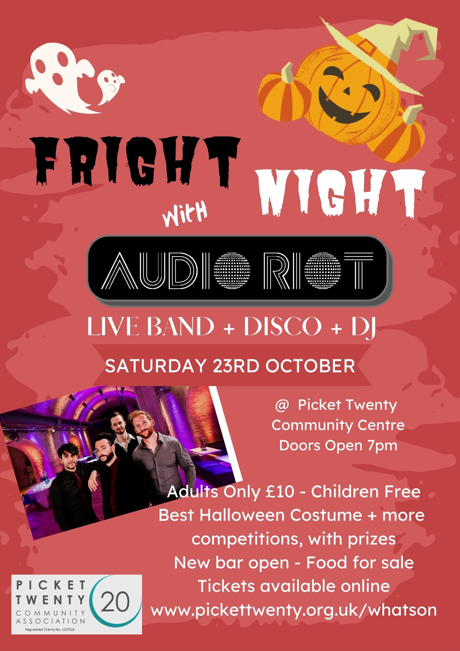 Fright Night-Audio Riot