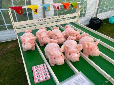 A Pig-tastic fundraiser in Thruxton