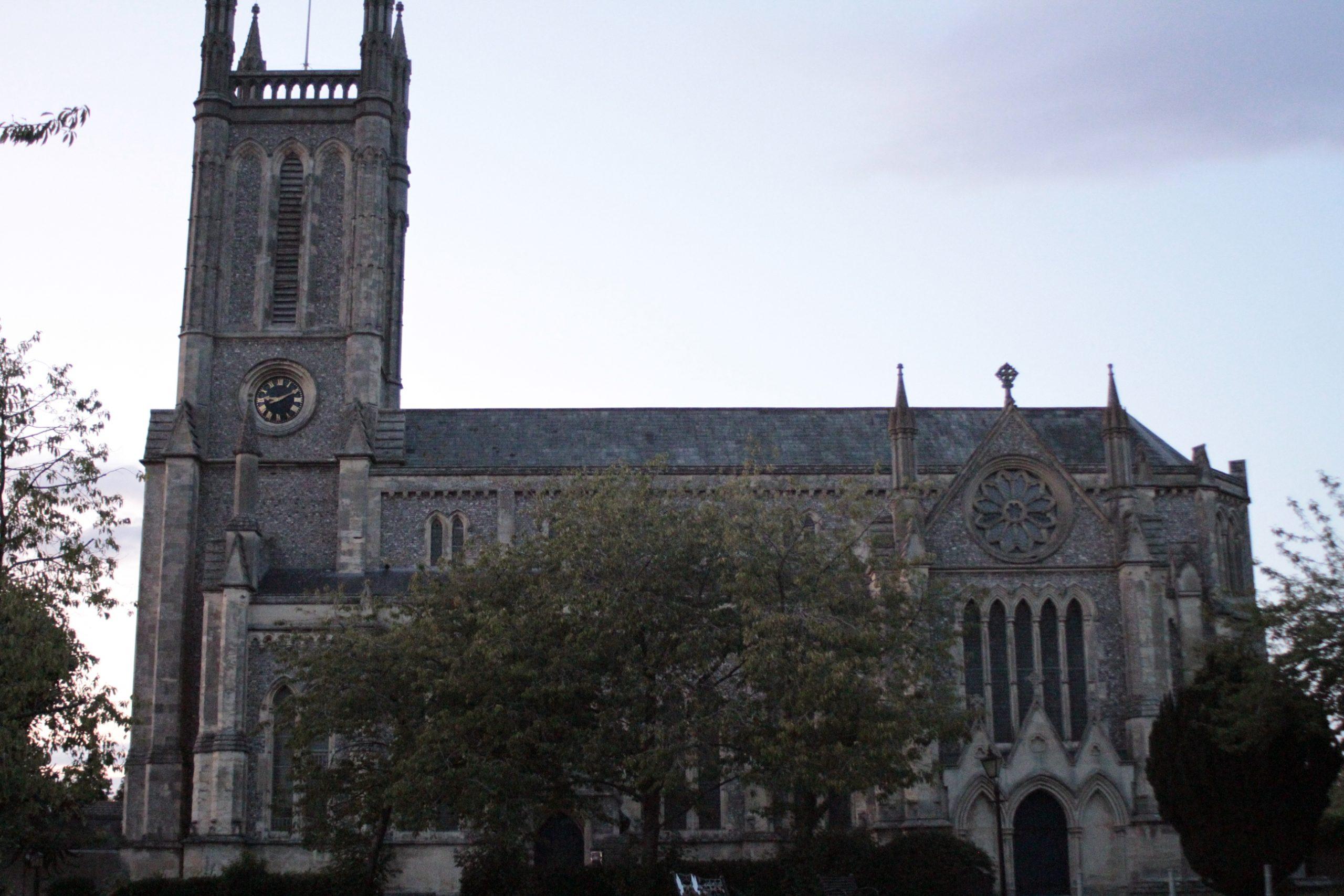 St Marys Side view