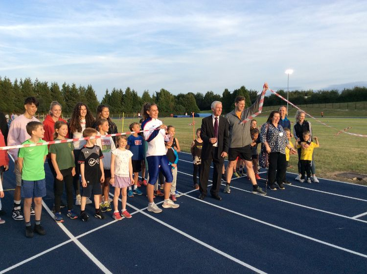 Andover Athletics Running Track Re-opened