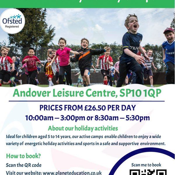 Multi-Activity Holiday Camp @ Andover Leisure Centre