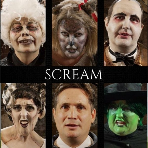 SCREAM – A virtual murder mystery challenge for Halloween